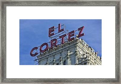 El Cotez San Diego Framed Print