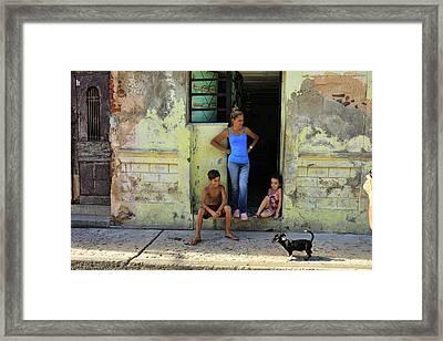 El Familia Framed Print
