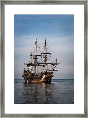 El Galeon Andalucia Framed Print by Dale Kincaid
