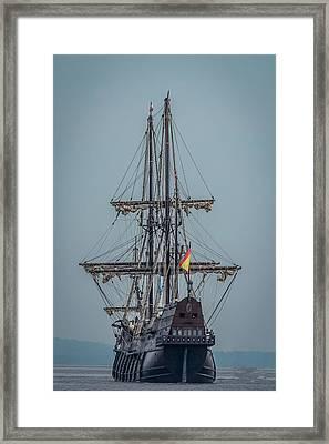 El Galeon Andulacia Framed Print by Paul Freidlund