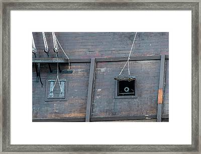 El Galeon Cannon Framed Print by Paul Freidlund