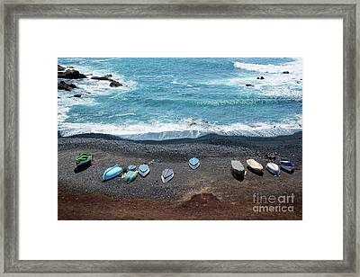 El Golfo Framed Print by Delphimages Photo Creations