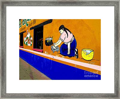 El Grano By Darian Day Framed Print by Mexicolors Art Photography