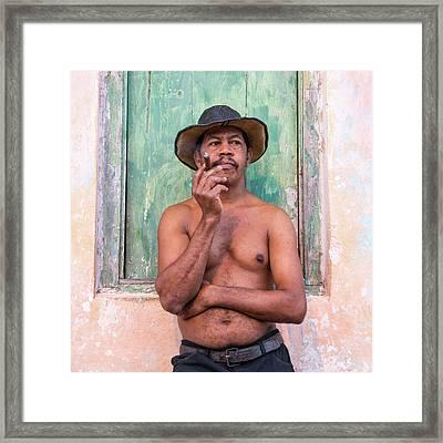 El Hombre Framed Print