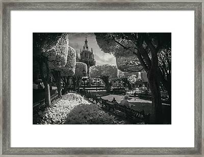 el Jardin Framed Print by Sean Foster