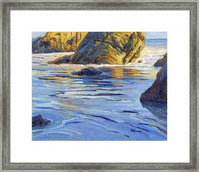 Pacific Reflections 2 Framed Print