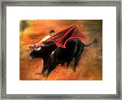El Matador Framed Print by Staci Smith
