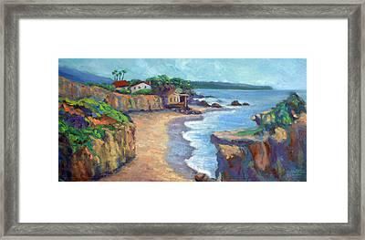 El Matador State Beach Framed Print by Athena  Mantle