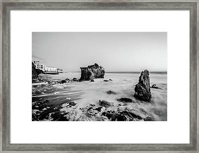 El Matador State Beach Framed Print