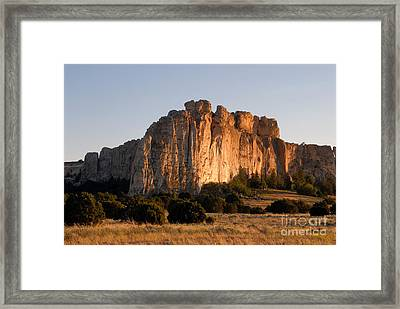 El Morro Framed Print by David Lee Thompson