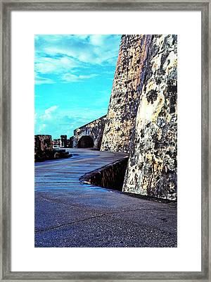 El Morro Fortress Framed Print by Thomas R Fletcher