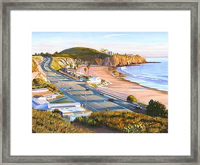 El Morro Trailer Park Framed Print by Steve Simon