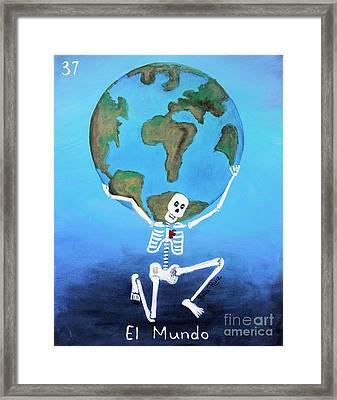 El Mundo Framed Print