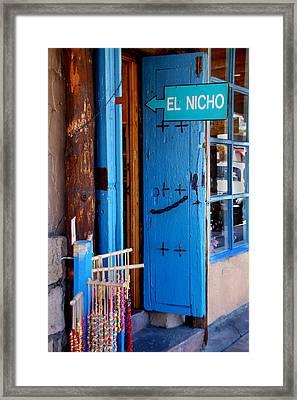 El Nicho Framed Print by Kathleen Stephens
