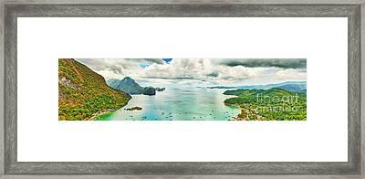 El Nido Bay Framed Print by MotHaiBaPhoto Prints