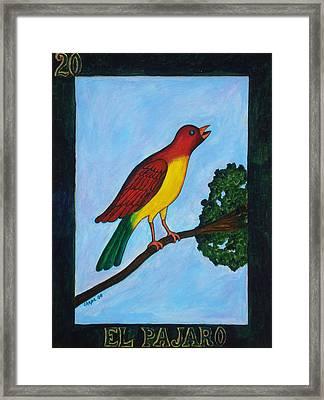 El Pajaro Framed Print
