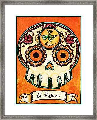 El Pajaro - The Bird Framed Print by Mix Luera