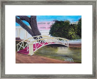 El Parterre In Aguadilla Pr Framed Print