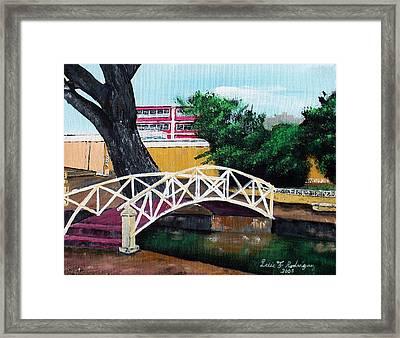 El Parterre Framed Print by Luis F Rodriguez