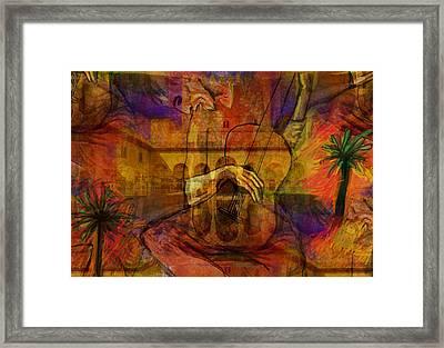 El Carrusel...after Picasso Framed Print