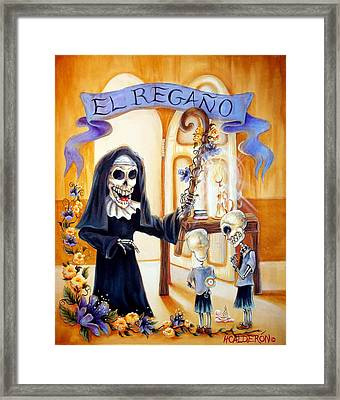 El Regano Framed Print by Heather Calderon