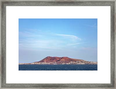El Rubicon - Lanzarote Framed Print