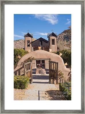 El Santuario De Chimayo Church Framed Print