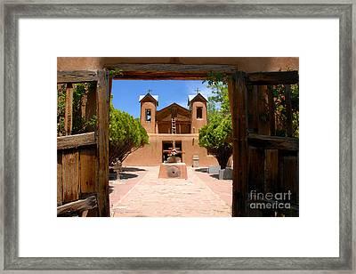 El Santuario De Chimayo Framed Print