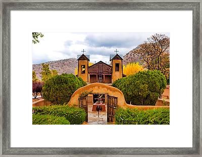 El Santuario De Chimayo Study 4 Framed Print