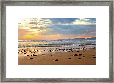 Framed Print featuring the photograph El Segundo Beach by April Reppucci