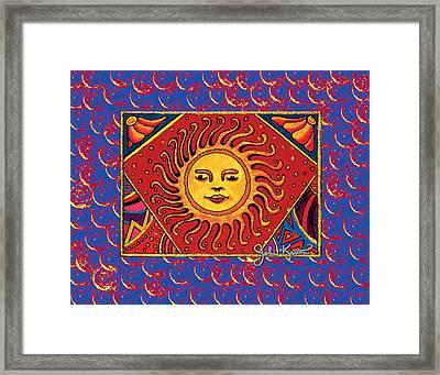 El Sol 2 Framed Print by John Keaton