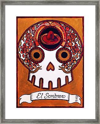 El Sombrero - The Hat Framed Print