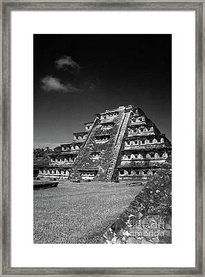 El Tajin Pyramid Veracruz Mexico Framed Print