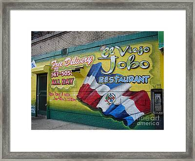 El Viejo Jobo  Framed Print by Cole Thompson