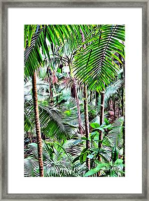 El Yunque Rainforest 5 Framed Print by Carey Chen