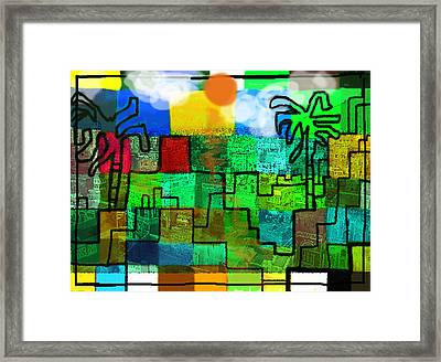 El Zahir  Framed Print by Paul Sutcliffe