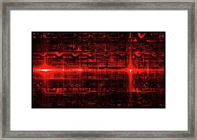 Elaborate Sequence Framed Print by Brian Kenney