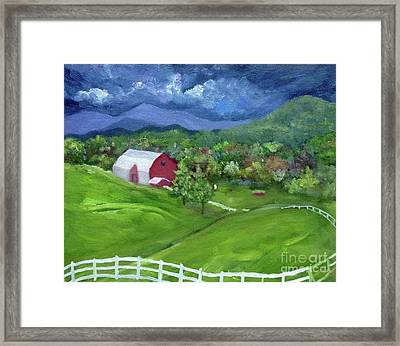 Elaida Home Framed Print