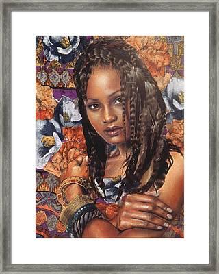Elaine 2.1 Framed Print
