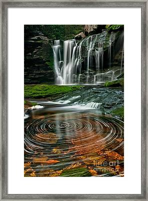Elakala Fall #1 D30010326 Framed Print by Kevin Funk