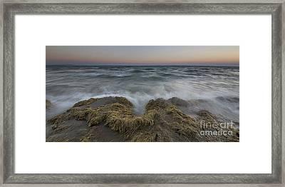 Elberta Waves Framed Print by Twenty Two North Photography