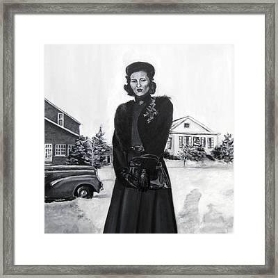 Elda Framed Print by Natalie Mae Richards
