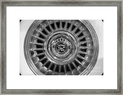 Framed Print featuring the photograph Eldorado Monotone by Dennis Hedberg