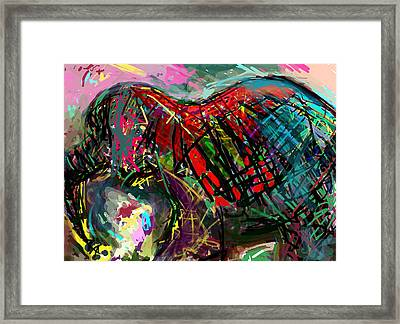 Ele Framed Print