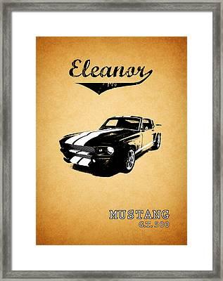 Eleanor Framed Print by Mark Rogan