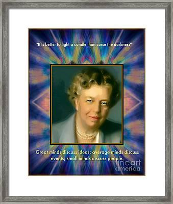 Eleanor Framed Print by Wbk