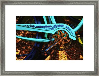 Electra Bicycle Framed Print