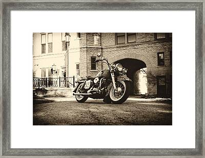 Electra Glide Framed Print