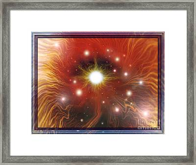 Electra Of Raa Framed Print