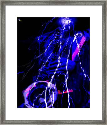 Electric Ave. Framed Print